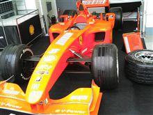 GSの新規オープン&客寄せフェラーリ