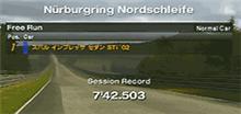ニュルブルクリンク・インプレッサWRXノーマルで8分切り
