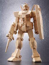 手彫りの木製ガンダム~♪