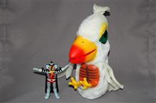実物大しらけ鳥 ソフビ製デンセンマン