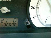 祝10万突破です