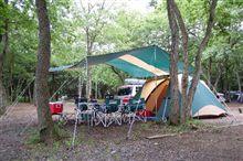 梅雨前に滑り込みキャンプ・・・なのか