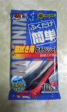 虫落としに効果的な窓拭きシート