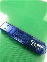 USBフラッシュメモリーが逝った(困)