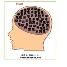 こ、こ、こんな脳内って・・・・