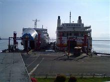 青森港です。