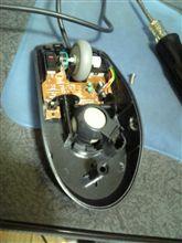 マウス修理。