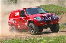 4WDサービスパドックのアジアクロスカントリーラリー参戦マシン