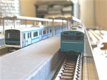 悪天候時は鉄道模型日和