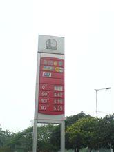 中国のガソリンスタンドでは