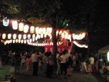 村の盆踊り♪