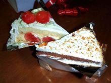 スイカのショートケーキ♪