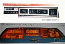 1980年代のスバルのデジタルメーター