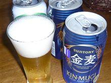 サントリーからのバクダンビール【金麦】