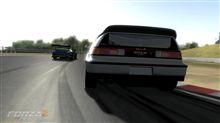 CR-Xでランエボを追う