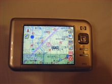 GPS付きPDA・iPAQ Pocket PC導入