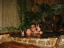 滋賀県宝船温泉キャンプ。