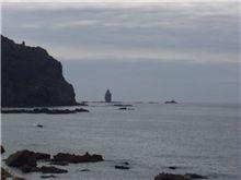 神威岬~神々しい岩