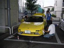 洗車オフ~仙台へ・・・