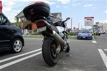 お友達のバイク
