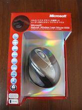 マイクロソフトのナチュラルワイヤレスレーザーマウス6000を買ってみました。