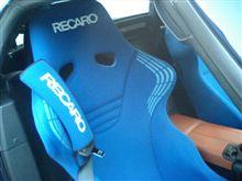 シートベルトのパッド装着