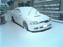 白の雪崩!