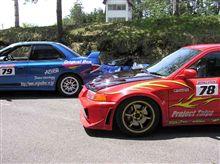 峠アタック'07第3戦 エキスパートB ラジアルタイヤでチャレンジ!