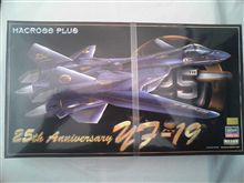 25th Anniversary YF-19 Valkyrie LIMITED EDTION
