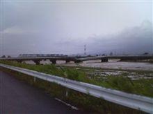 落橋...台風9号恐るべし