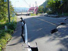 昨日の地震