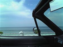 角島の海。