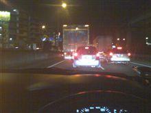 渋滞です…