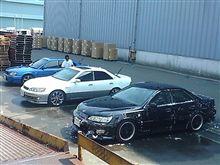 洗車&作業オフ(レガシィ)