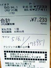 ハイオク 142円!!