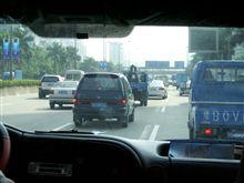 中国深圳の車事情