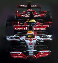 始まりはまたも雨、富士F1