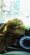 ハンバーガー的ランチ