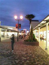 神戸三田プレミアムアウトレットに行ってきました。