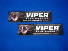 VIPER V70 「ワーニングステッカー」編