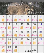 マッタコのカレンダー