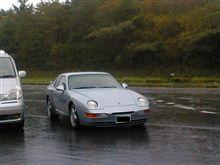 雨のドライブ