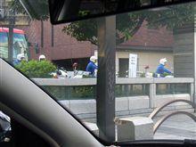 京橋出口から