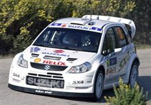 SX4 WRC テスト参戦