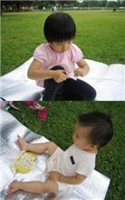 公園でのお昼♪