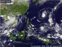 @台風情報@今度は台風19号が発生中!