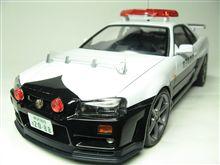 BNR34 GT-R 埼玉県警パトカー