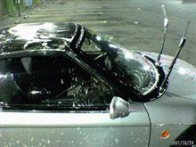初洗車!?
