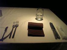 寂しいディナー…