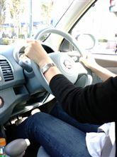 運転風景。